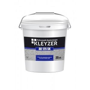 Финишная белая декоративная акриловая штукатурка (короед) KLEYZER AK 125 SК