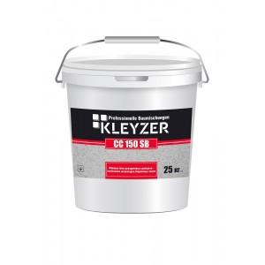 Финишная белая декоративная силикатно-силиконовая штукатурка (барашек) KLEYZER СС 150 SB