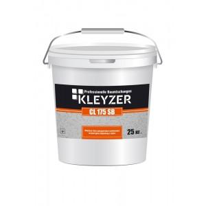 Финишная белая декоративная силиконовая штукатурка (барашек) KLEYZER СL 175 SB
