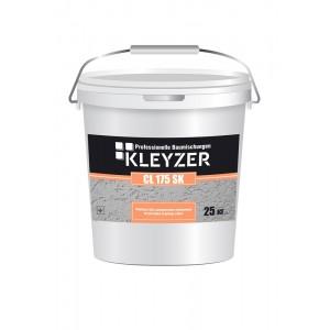 Финишная белая декоративная силиконовая штукатурка (короед) KLEYZER СL 175 SК